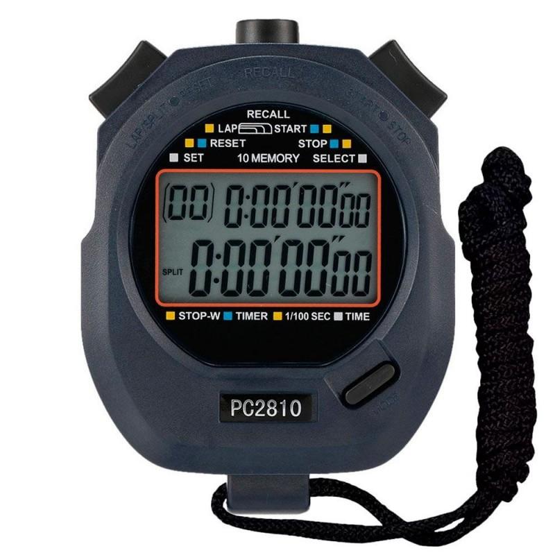 Cronómetro Profesional Race 10 Memorias