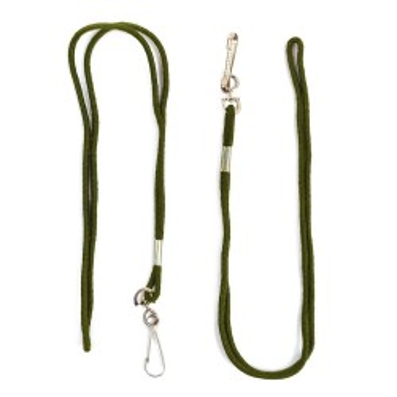Cordón Silbato con Mosquetón Verde - 2 unidades