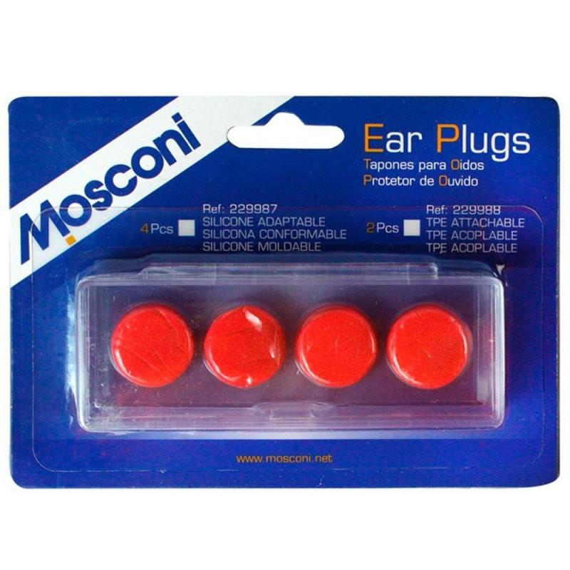Tapón Mosconi Silicona Conform Rojo