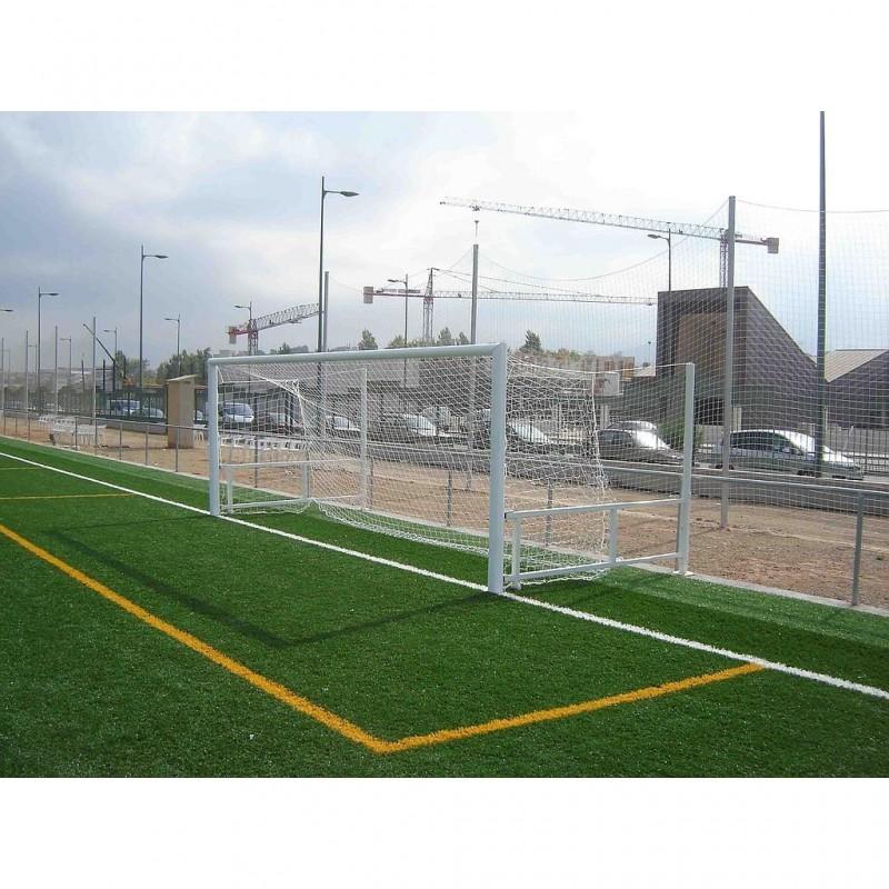 Juego Porterías Fútbol 11 ABATIBLES - Aluminio Oval