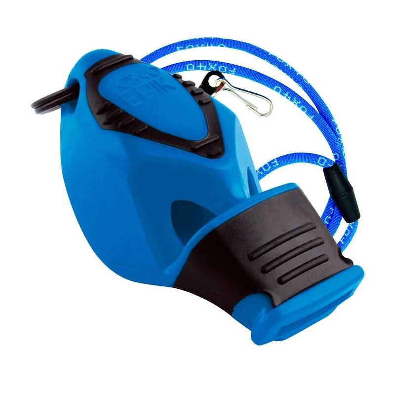 Silbato Fox 40 Epik CMG Azul con Cordón
