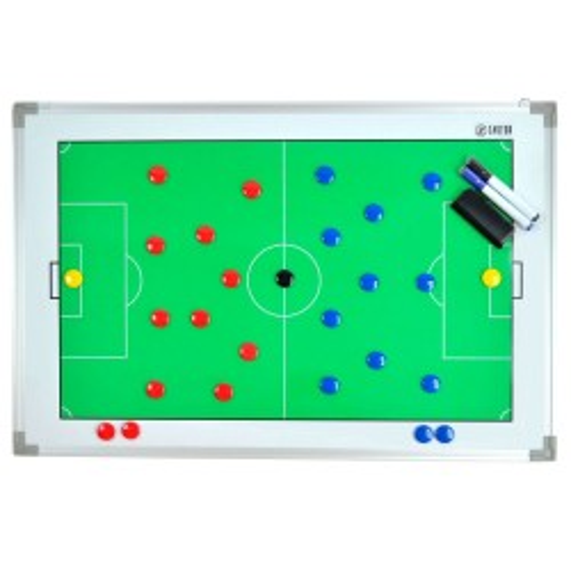 Pizarra Tácticas Magnética Zastor TEAM LUX Fútbol 60x90cm