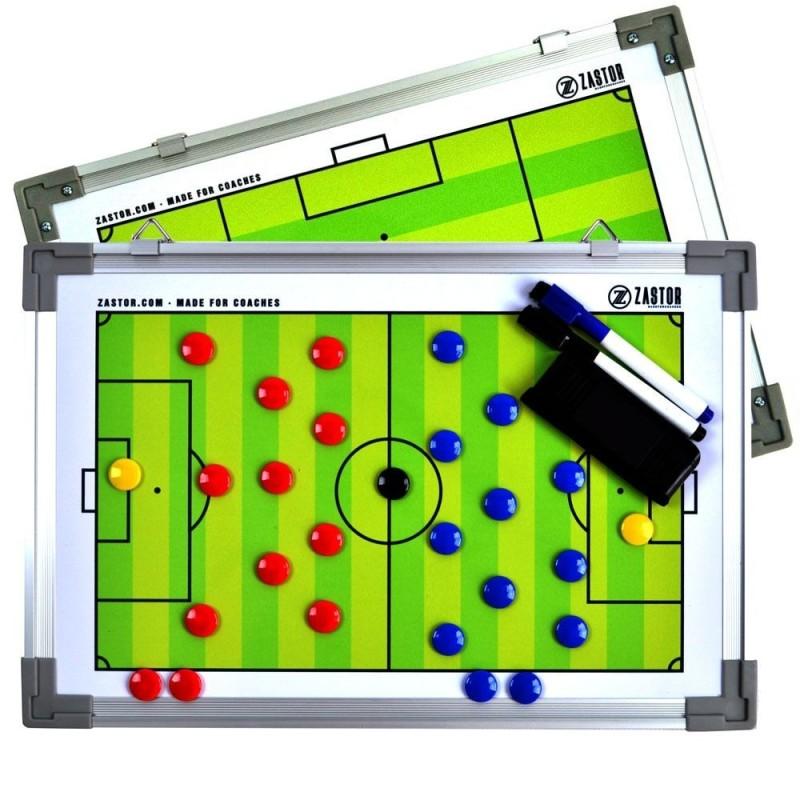 Pizarra Magnética Reversible Zastor TEAM DUO Fútbol 30x45cm