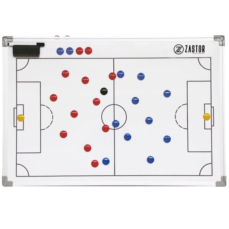 Pizarra Tácticas Magnética Zastor TEAM Fútbol 45x60cm