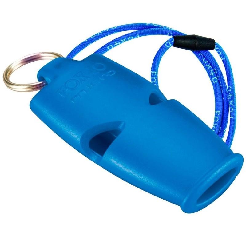 Silbato FOX 40 Micro Azul Cordón