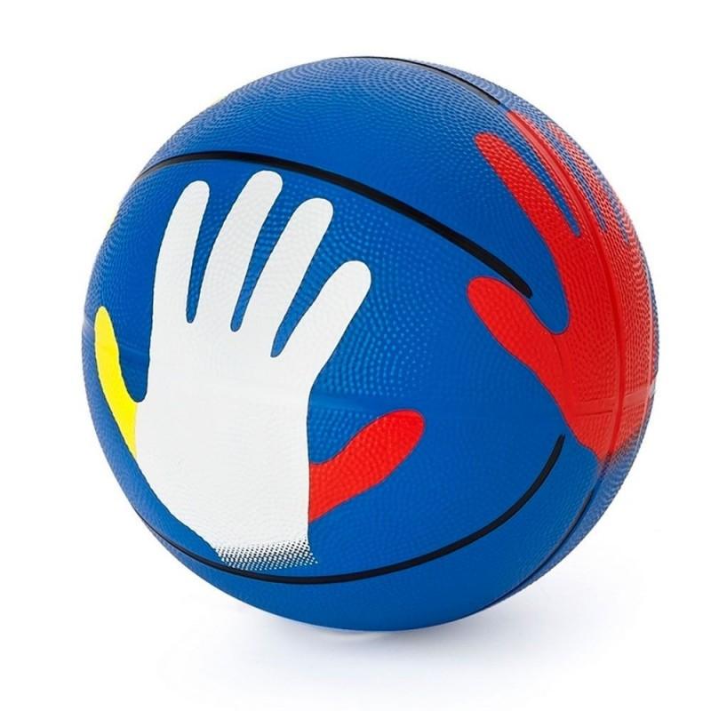 Balón Baloncesto Posición Manos