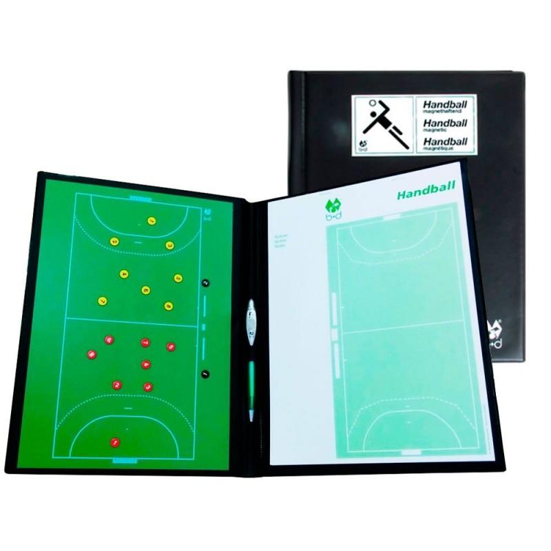 Carpeta Tácticas Magnética B+D Fútbol Sala-Balonmano