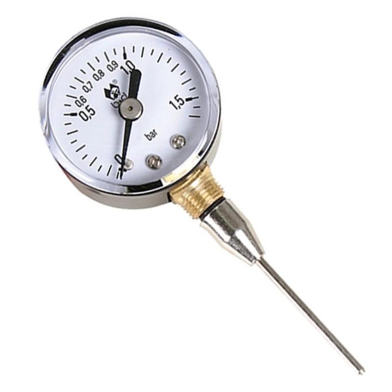 Medidor Presión Manómetro Analógico