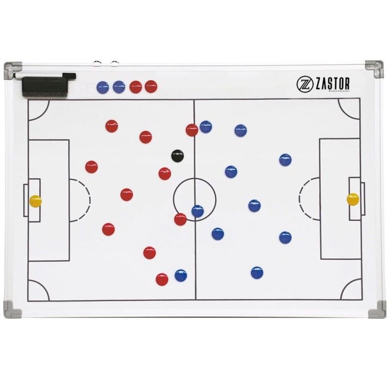 Pizarra Tácticas Magnética Zastor TEAM Fútbol 60x90cm