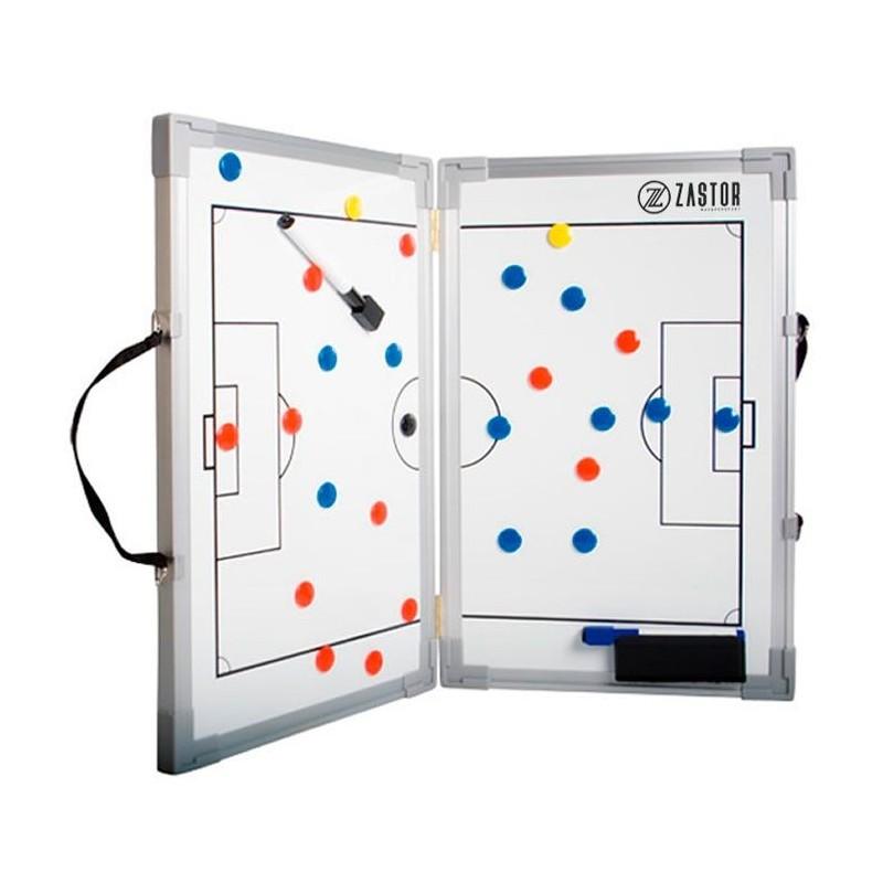 Pizarra Tácticas Plegable Zastor Fútbol 45x60 cm