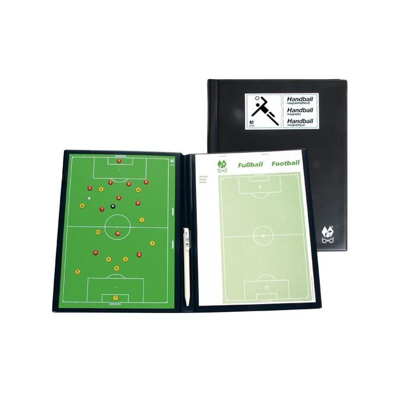 Carpeta Tácticas Magnética B+D Fútbol