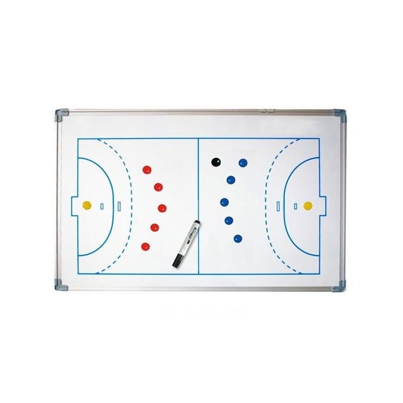 Pizarra Tácticas Magnética Fútbol-Sala y Balonmano 60x90cm