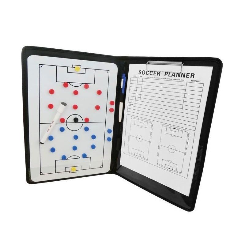 Carpeta Tácticas Magnética Zastor COACH Fútbol