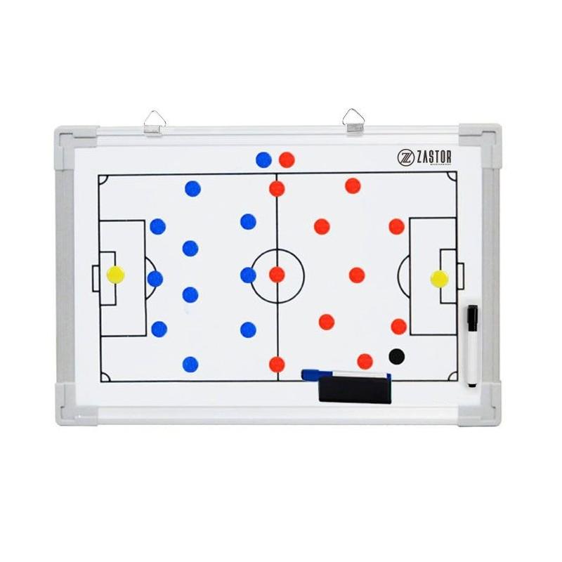 Pizarra Tácticas Magnética Zastor TEAM Fútbol 30x45cm