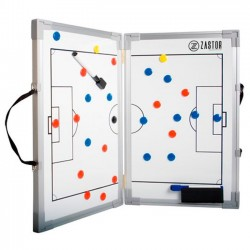 Pizarra Tácticas Plegable Zastor Fútbol 60x90 cm