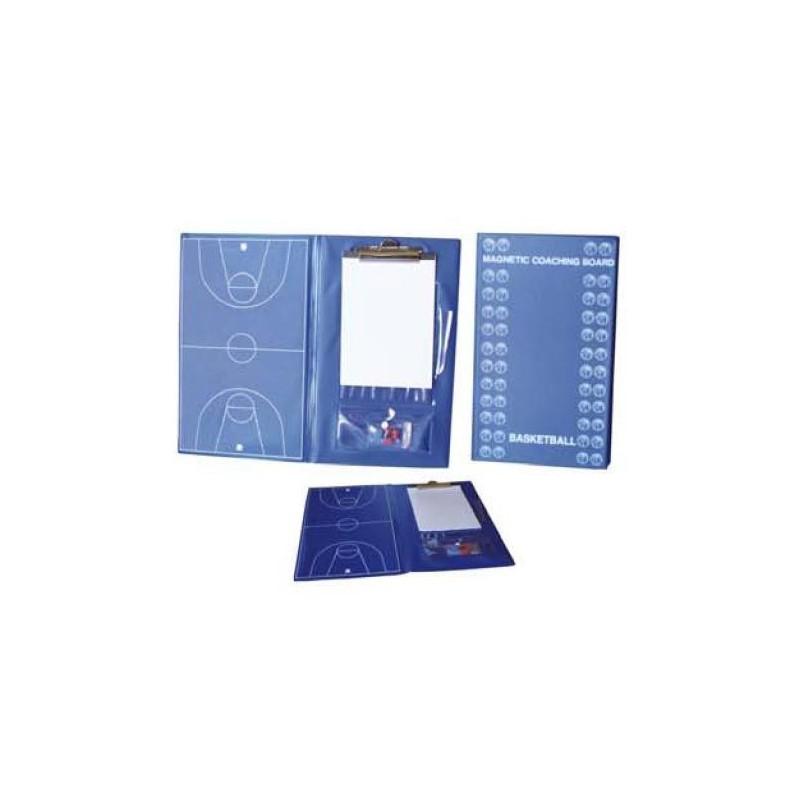 Carpeta Táctica Magnética Profesional Baloncesto