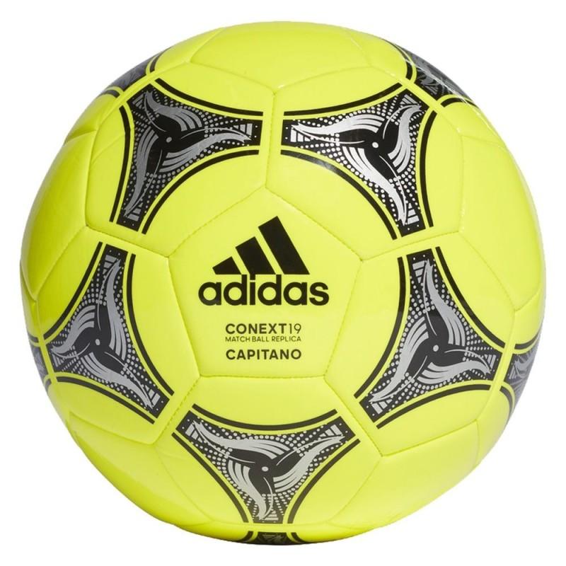 Balón Fútbol Adidas Context 19 Capitano T.5 Amarillo Neón