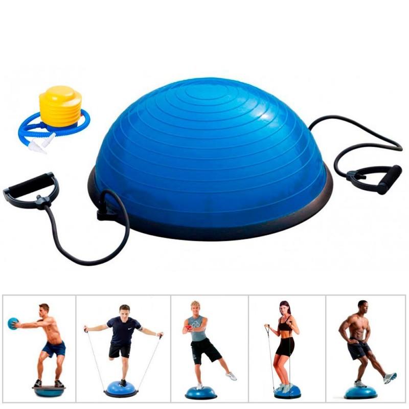 Semiesfera de Entrenamiento Zastor ASANA Azul - Balance Trainer Tipo B