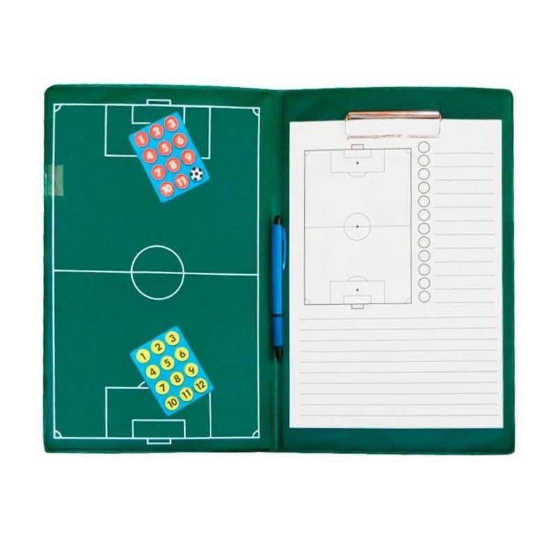 Carpeta Táctica Magnética Profesional Fútbol