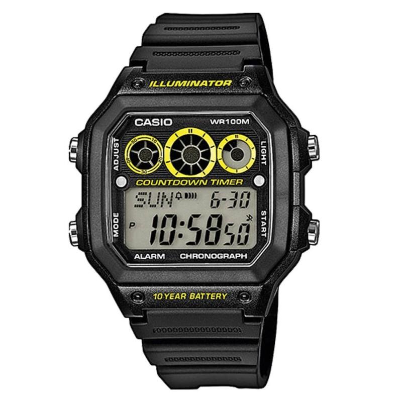 Reloj Crono Árbitro Casio AE-100WH-1AVEF