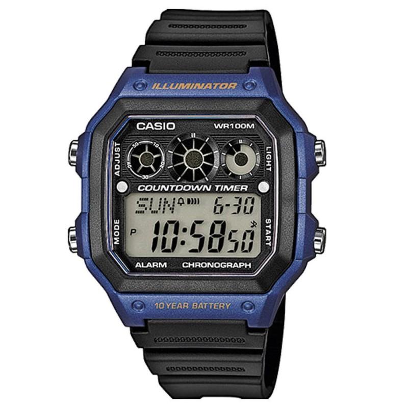Reloj Crono Árbitro Casio AE-100WH-2AVEF