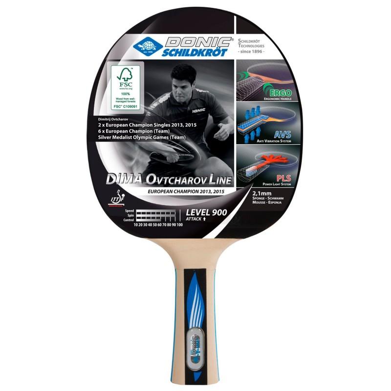 Pala Ping Pong Donic Ovtcharocv 900