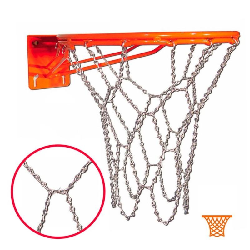 Red Baloncesto Metálica Antivandálica