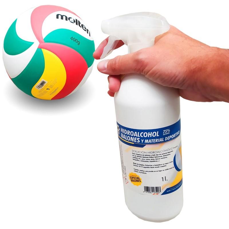 Desinfectante Hidroalcohólico Balones y Material Deportivo