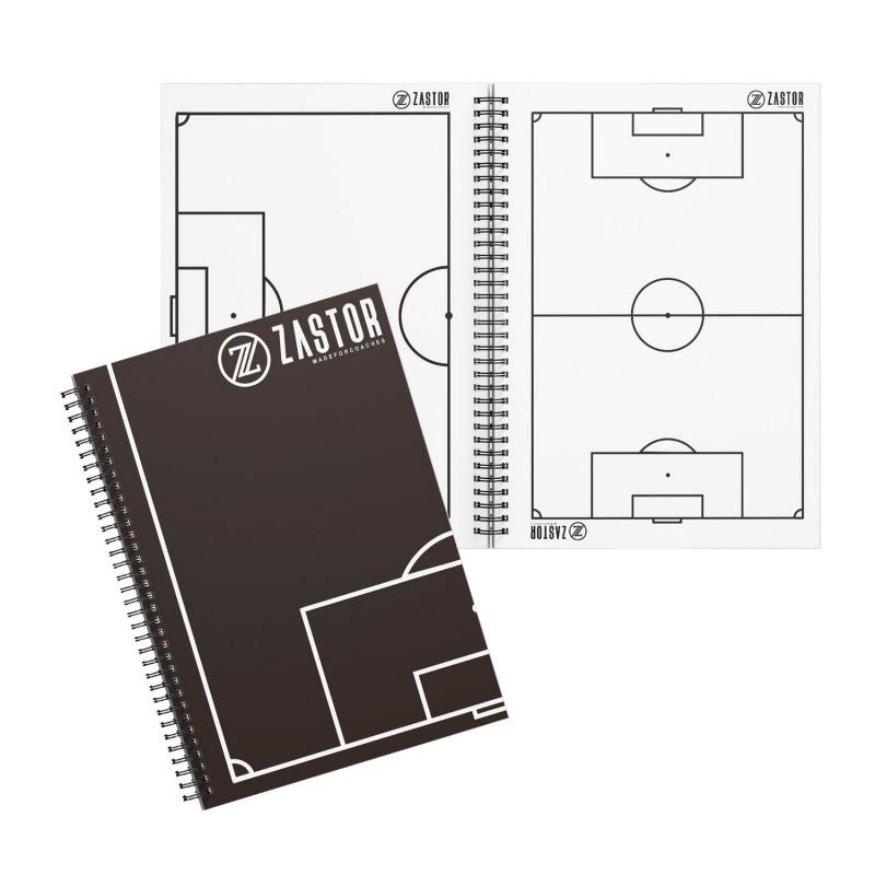 Cuaderno Tácticas Fútbol Zastor Memo