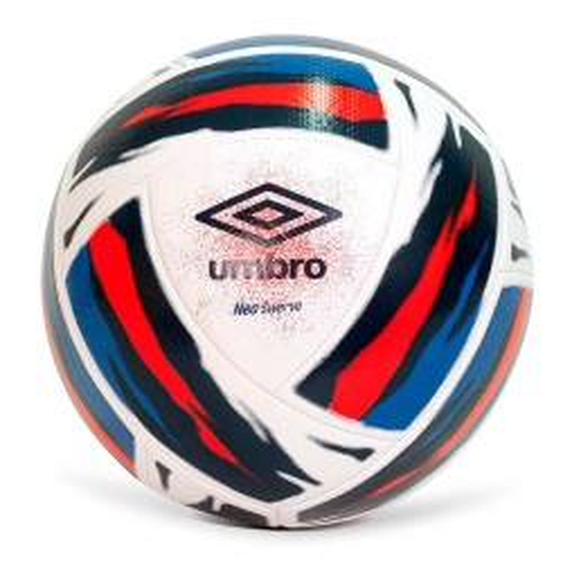 Balón Fútbol Umbro Neo Swerve T-4 White/Victoria Blue