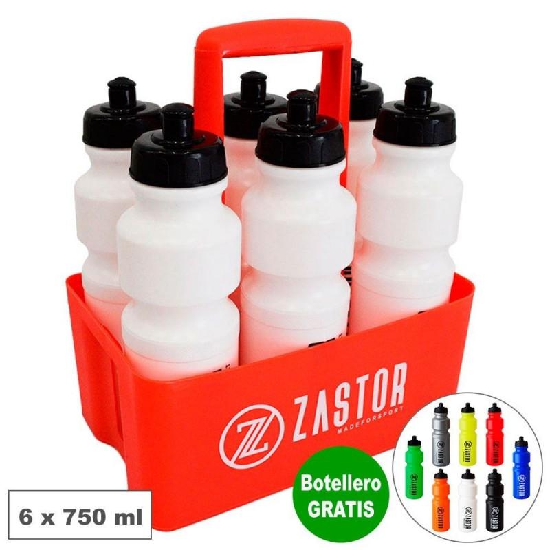 Pack 6 Botellas 750 ml con Cesta Portabotellas Gratis