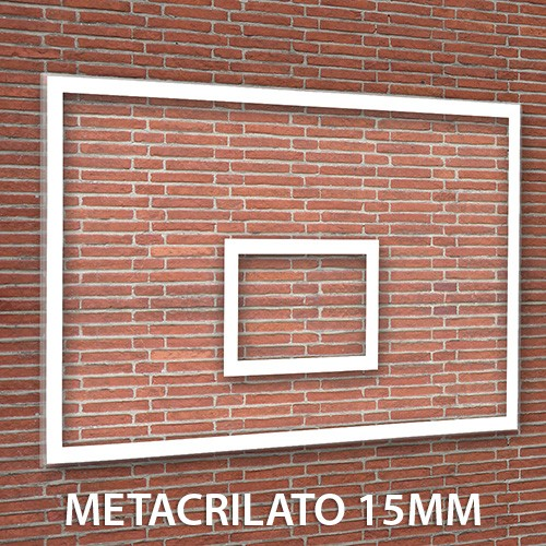 Tablero Baloncesto Metacrilato 15 mm