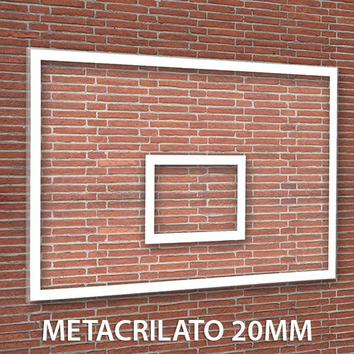 Tablero Baloncesto Metacrilato 20 mm